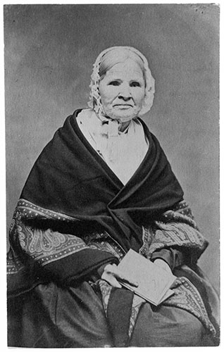 Louisa Swain, first woman to vote in the world.