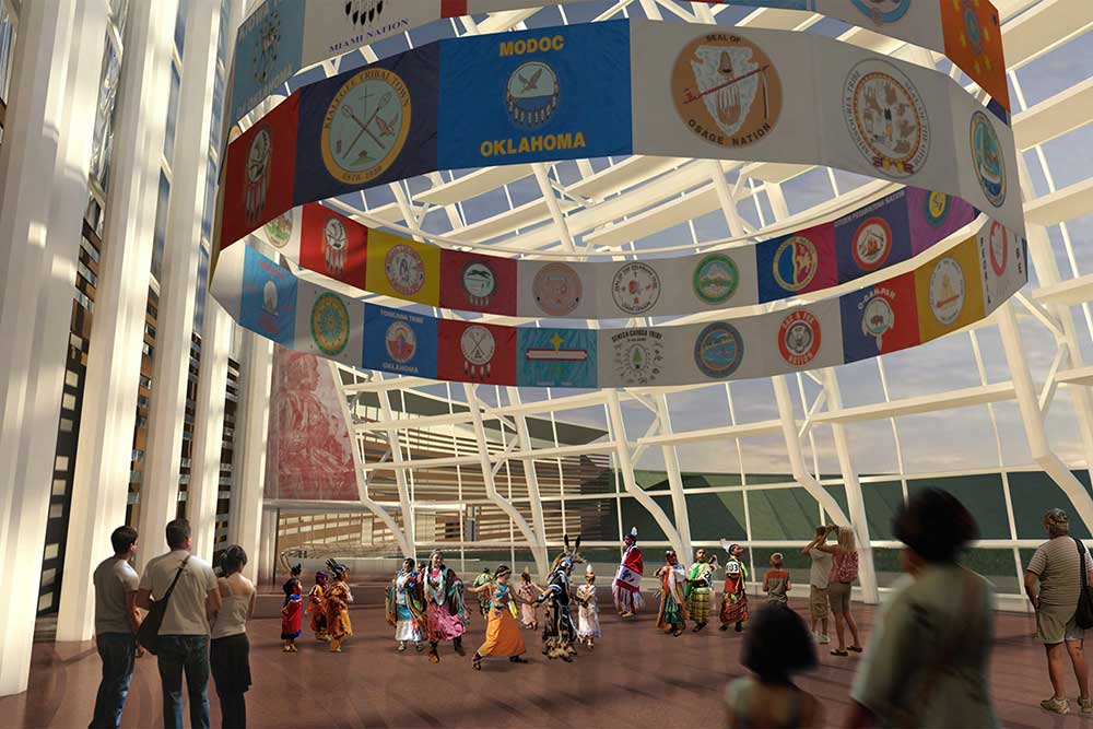 Oklahoma City Hall of People First Americans Museum