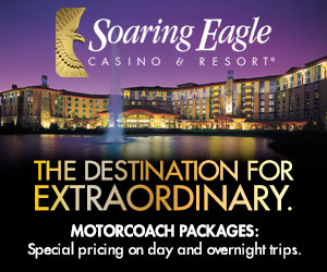 Soaring Eagle Casino & Resort Itinerary page MR