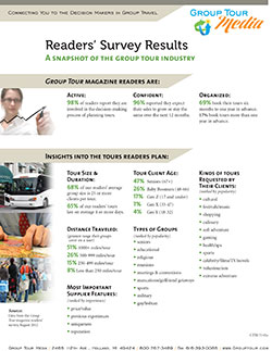 Group Tour Readers Survey Results thumbnail image