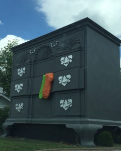World's Largest Chest of Drawers, High Point, N.C.