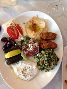 Plate at Sherefe, Fayetteville, N.C.