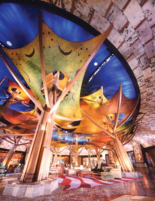 Mohegan Sun Casino lobby_alternate