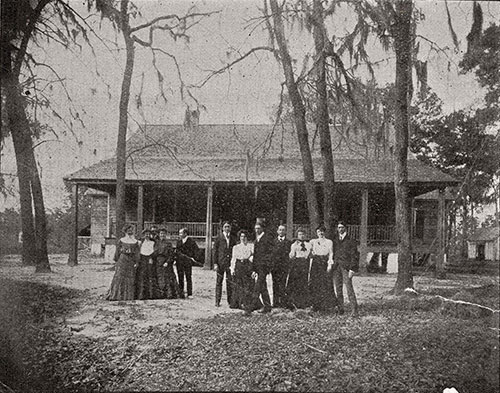 Group In Front of House