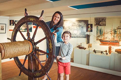 Mariners Museum Ships Wheel