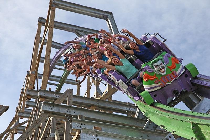 Vallejo Joker roller coaster