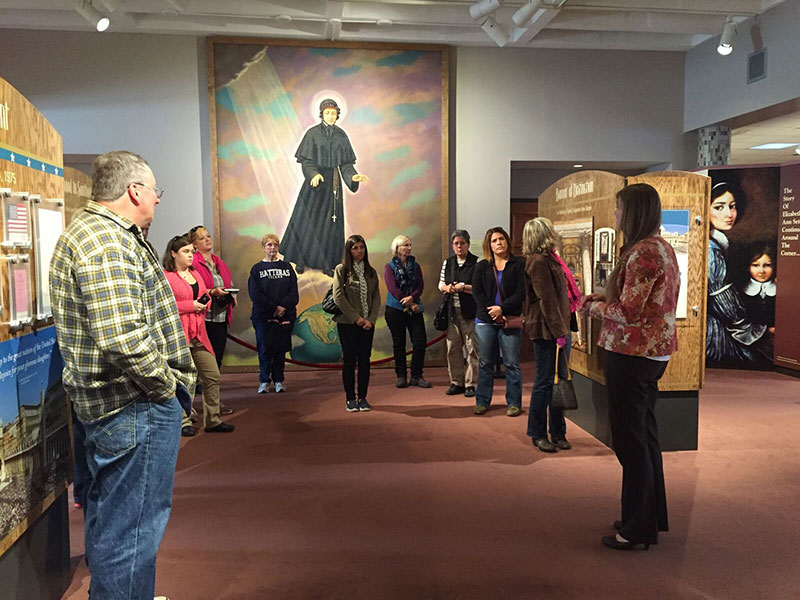 National Shrine of St. Elizabeth Ann Seton Group