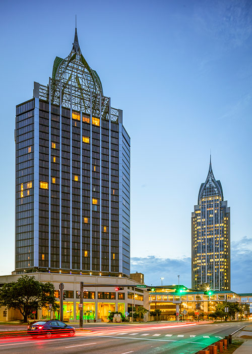 Renaissance Hotels Mobile Both Towers