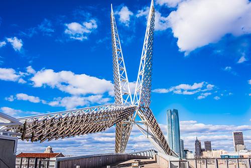 Oklahoma City CVB bridge
