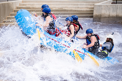 Oklahoma City CVB rafting