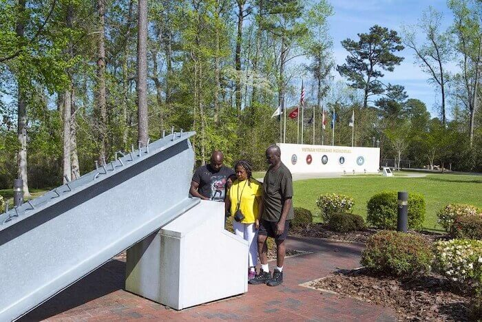 9/11 Memorial at Lejeune Memorial Gardens, Jacksonville, N.C. Onslow County