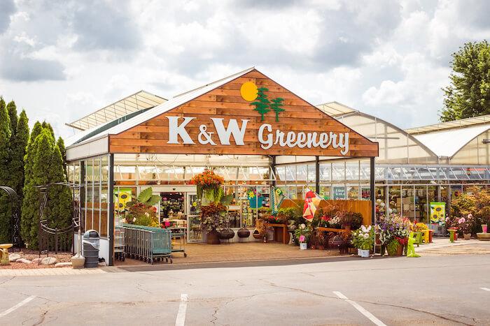 K & W Greenery, Janesville, Wis.