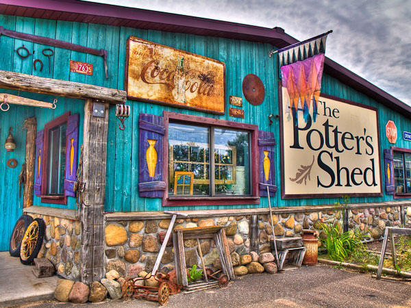 The Potters Shed in Washburn County