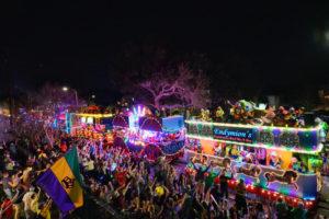 Mardi Gras parade, New Orleans, La.