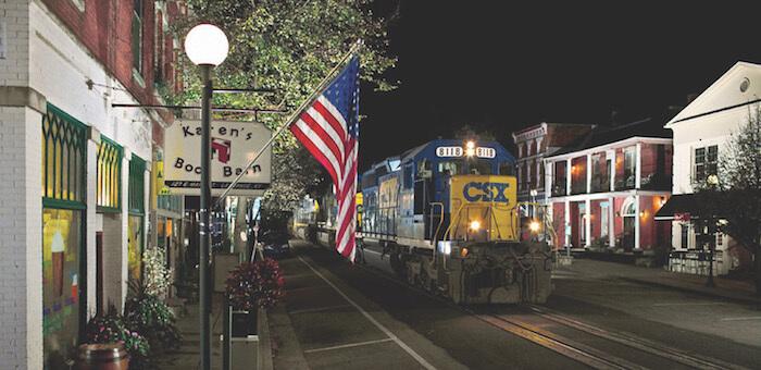 Trains on Main, La Grange, Ky.