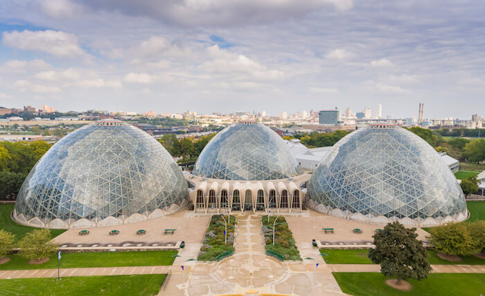 Mitchell Park Horticultural Conservatory, Milwaukee, Wis.