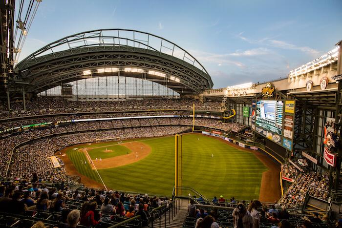Milwaukee Brewers Miller Park, Milwaukee, Wis.