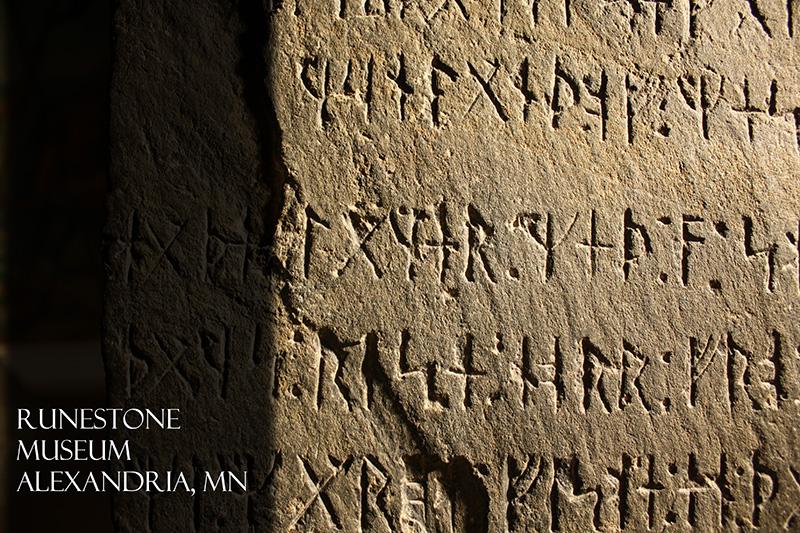 Runestone Museum Postcard