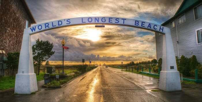 World's Longest Beach Archway, Long Beach, Wash.