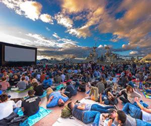 Summer Movies, Intrepid Sea, Air & Space Museum, New York, N.Y.