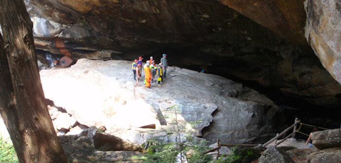 Natural Stone Bridge & Caves, Pottersville, N.Y.