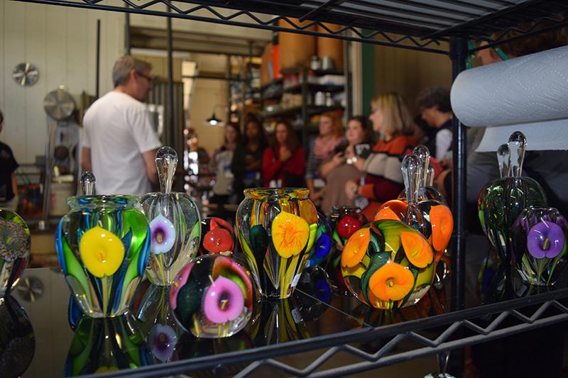 Chicago Southland CVB Lotton Art Glass