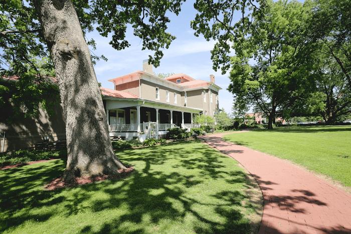 The Peel Mansion Museum & Heritage Gardens, Bentonville, Ark.