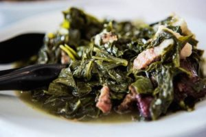 Chef Hardette Harris' Famous Greens, Us Up North Food Tour, Shreveport-Bossier, La.