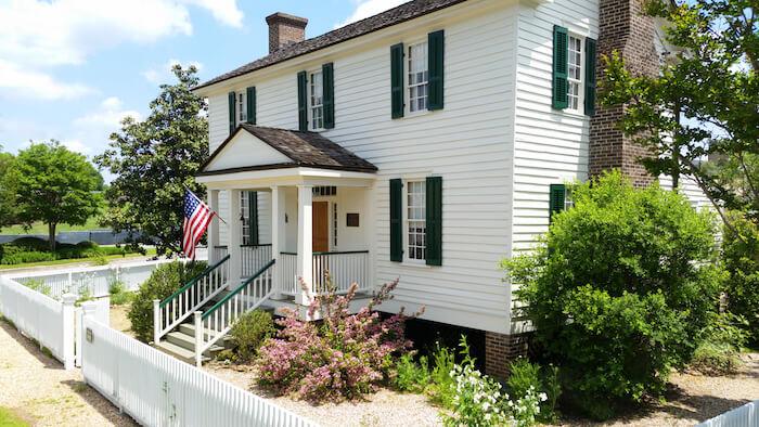 William Root House Museum & Garden in Marietta, Georgia