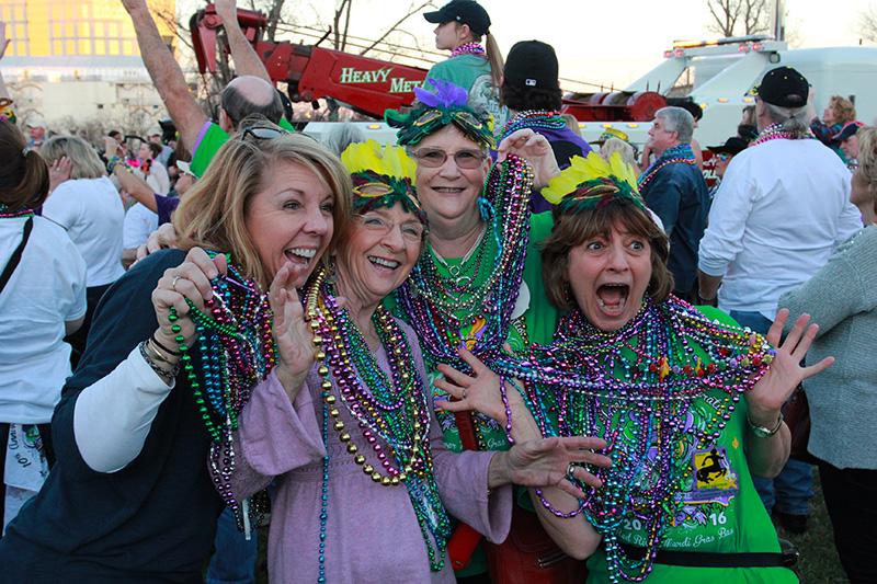 Shreveport-Bossier Mardi Gras Beads
